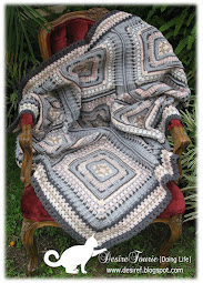 {Doing Life} GRANNY RETRO THROW pdf Pattern