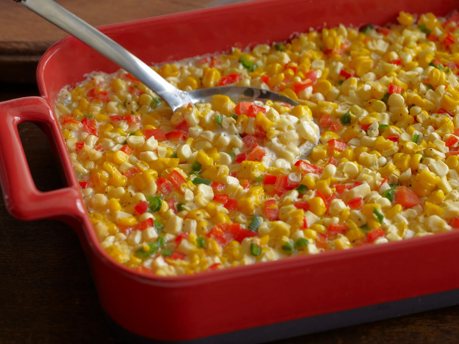Quick corn and bacon casserole