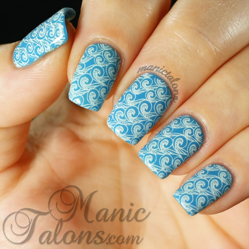 Lily Anna 09, Waves Manicure