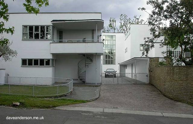 Residencia urbana estilo Moderno de 1937 en New Malden - Inglaterra