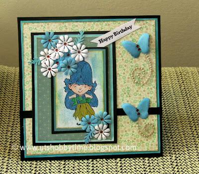 Handmade greeting cards for birthday