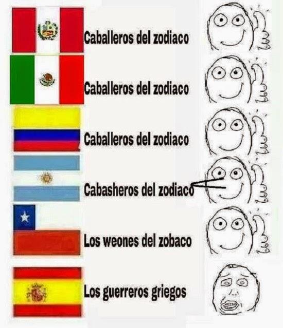 Esos españoles y sus doblajes