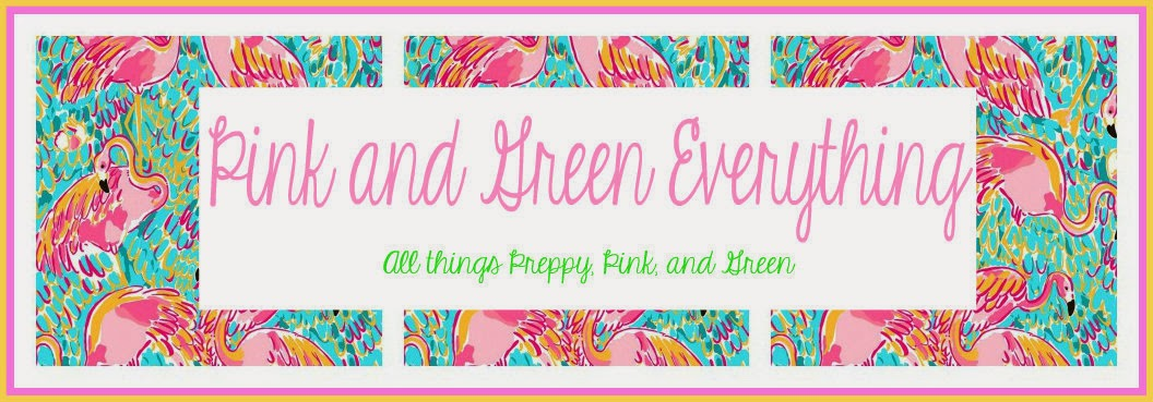 Pink and Green Everything