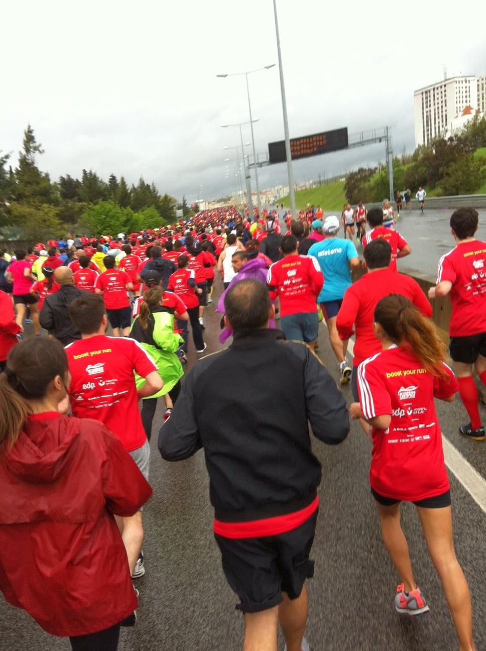 A primeira subida da corrida do Benfica