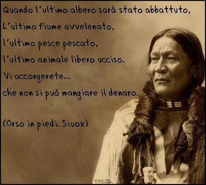 frasi indiani d america sulla vita