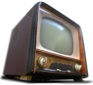 Une très très vieille télé...