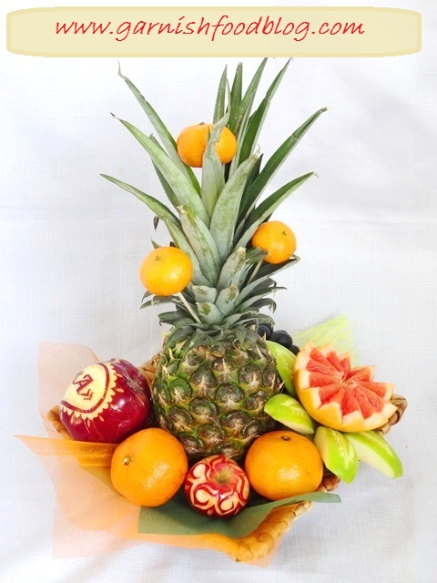 fruit carving gifts