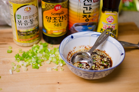 Korean Recipes] Steamed Soft Tofu with Soy Chili Sauce - All Asian ...
