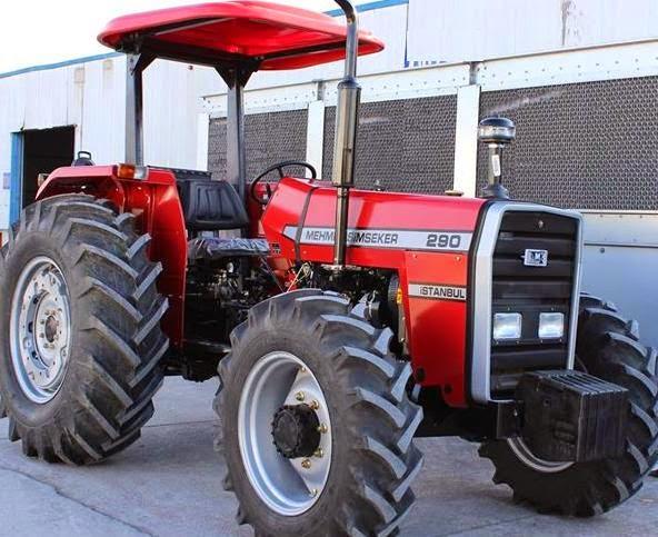 Yeni traktör İstanbul'da