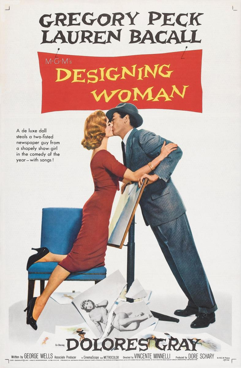 Designing Woman Bacall and Pecks worlds clash in Designing Woman 1957