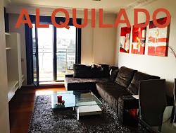 Ático con dos terrazas en alquiler en Papagayo, dos dormitorios, amueblado, garaje. 875€