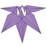 Origami Bunga Iris