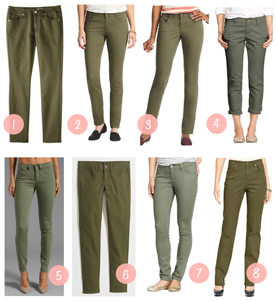 Collection Green Skinny Pants Womens Pictures - Kianes