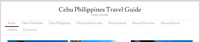 Cebu Philippines Travel Guide Blog