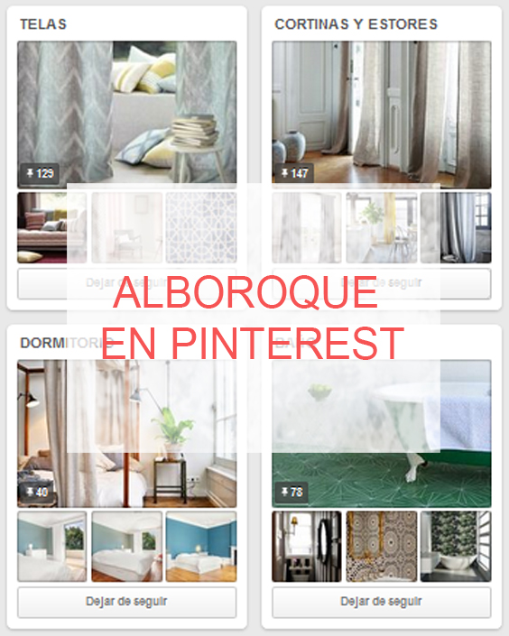 Alboroque en Pinterest