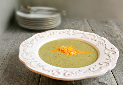 Creamy Broccoli and Cheese Soup