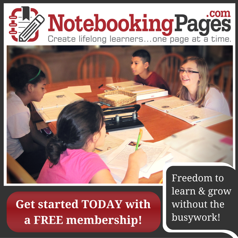 LIBRARY HOMESCHOOLING - WHAT IS NOTEBOOKING?