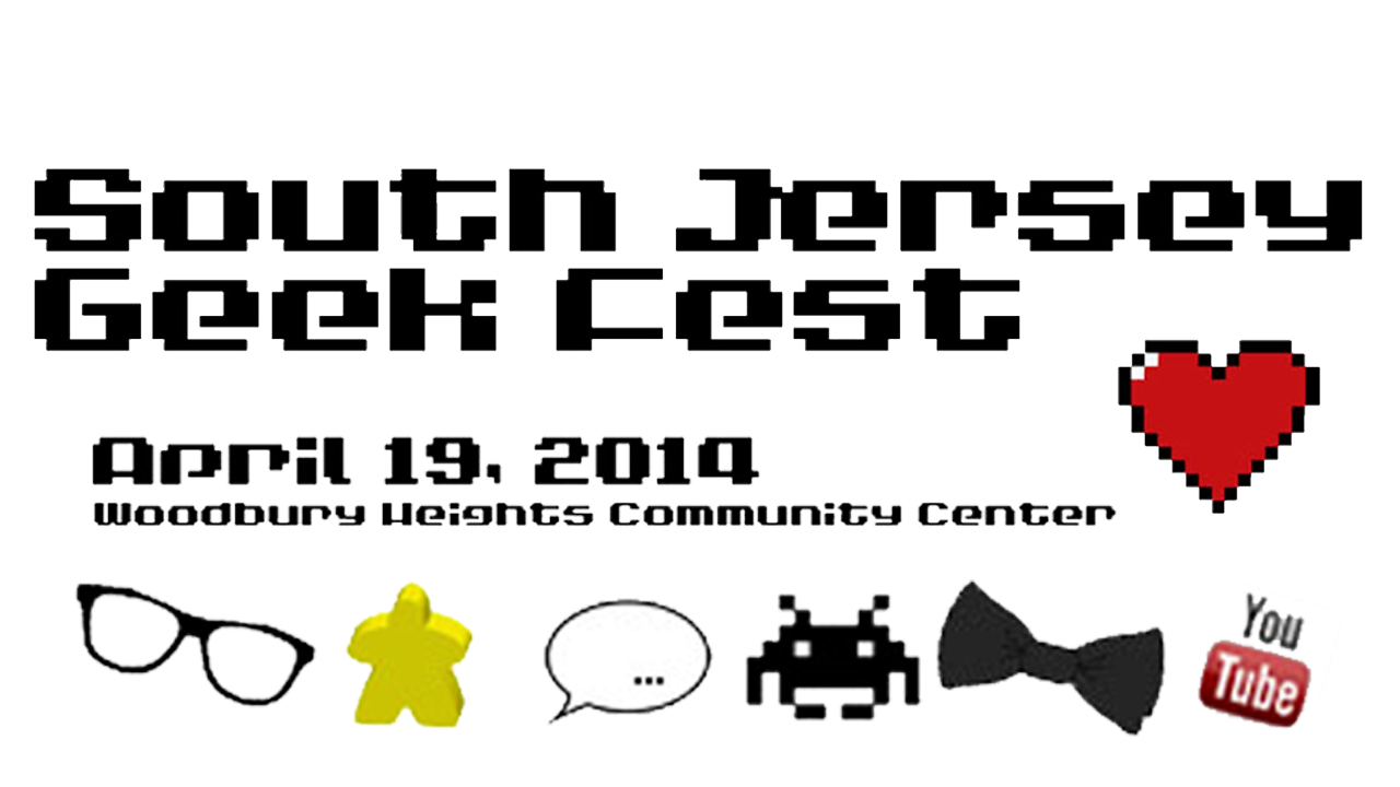 2014 Southern New Jersey Convention Center for Geeks Event
