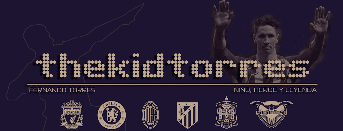 El blog sobre Fernando Torres, The Kid of Atletico de Madrid