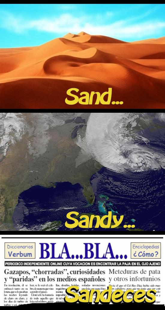 Sand, Sandy, sandeces