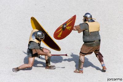 lucha de legionarios