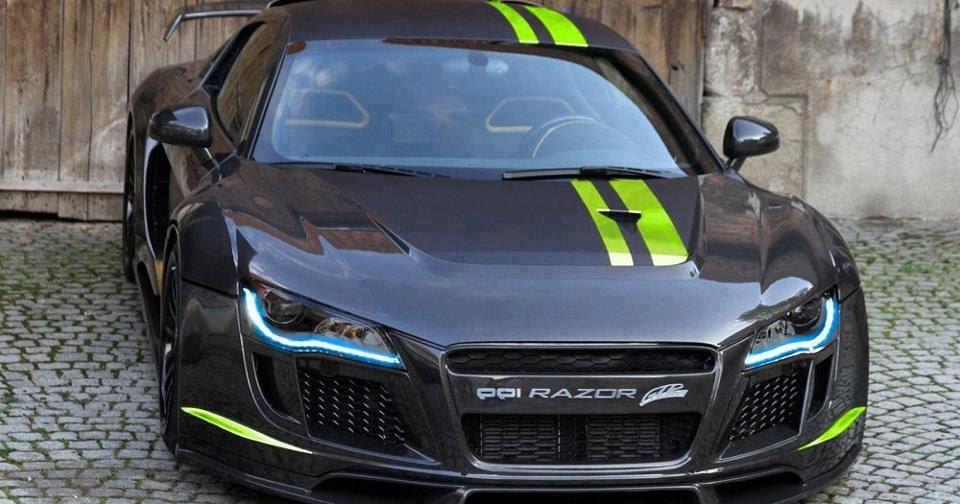 Audi R8 Razor Gtr Anaconda Tuning