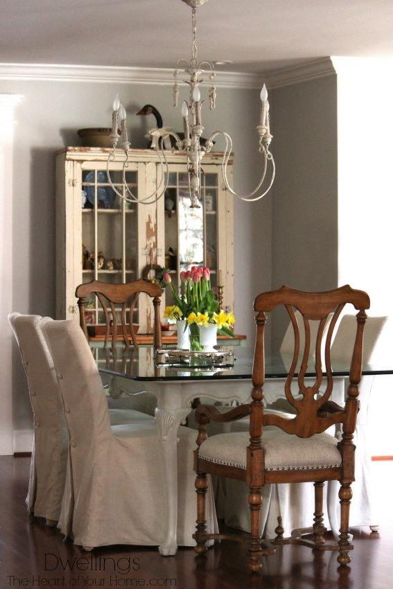Dwellings- French Country Farmhouse Dining Room-Treasure Hunt Thursday Blog Link Up Party- From My Front Porch To Yours