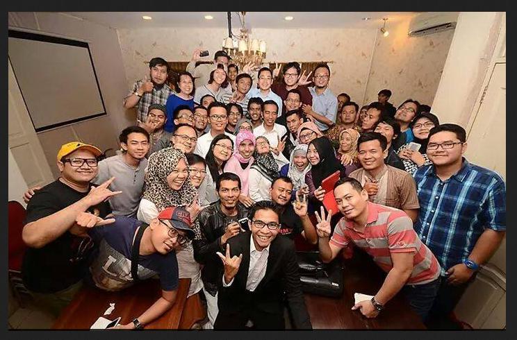 Bapak Jokowi Hadir Di Kelas SB1M