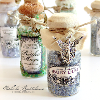 Bottled magic from Pixie Hill Studio