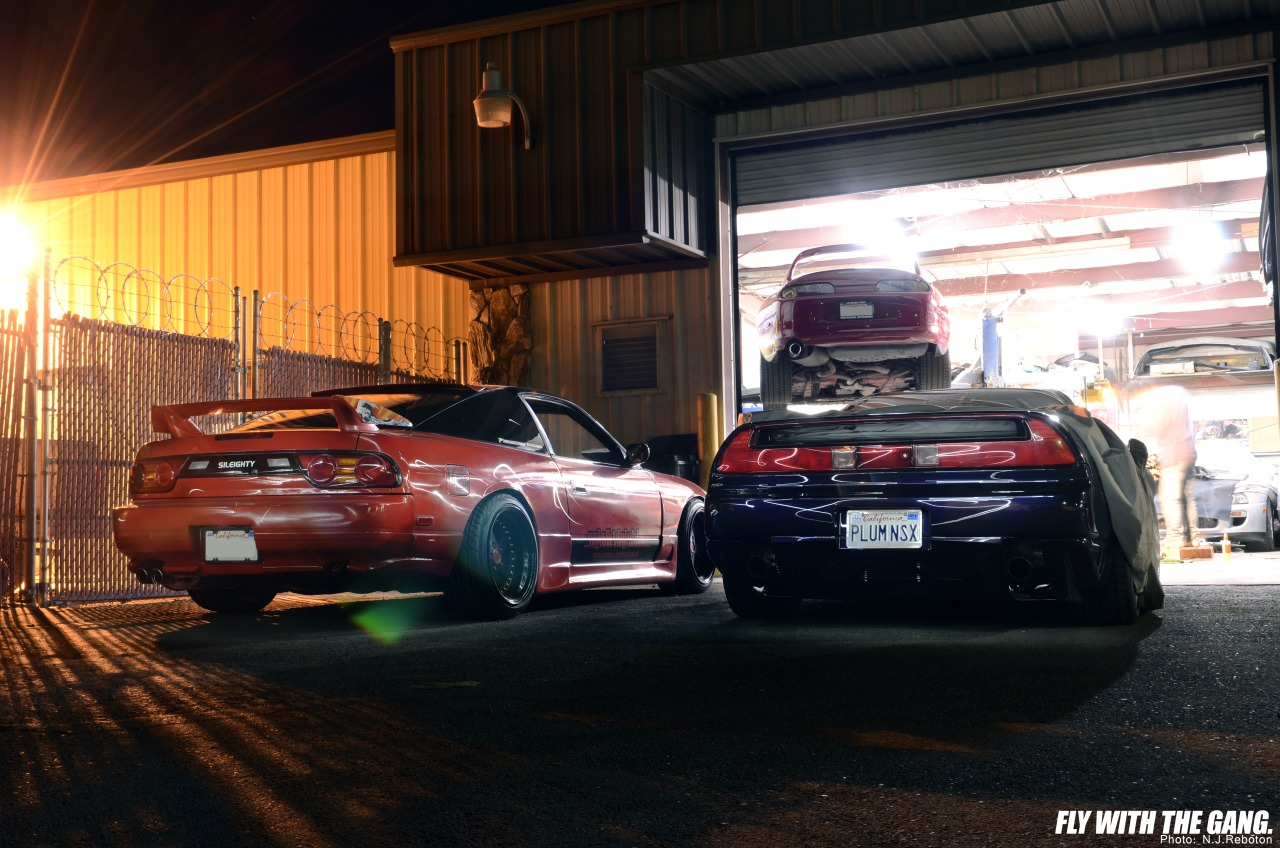 Nissan 240SX, Toyota Supra A80, Honda NSX, kultowe auta, samochody z duszą, najlepsze sportowe auta, nocna fotografia, japońska motoryzacja, billeder, nuotraukos, grianghraf, valokuvat