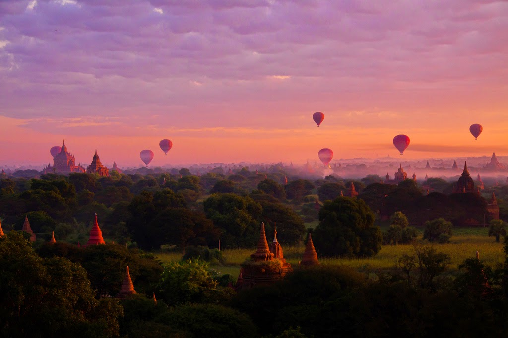 Birmania, Bagan Manya