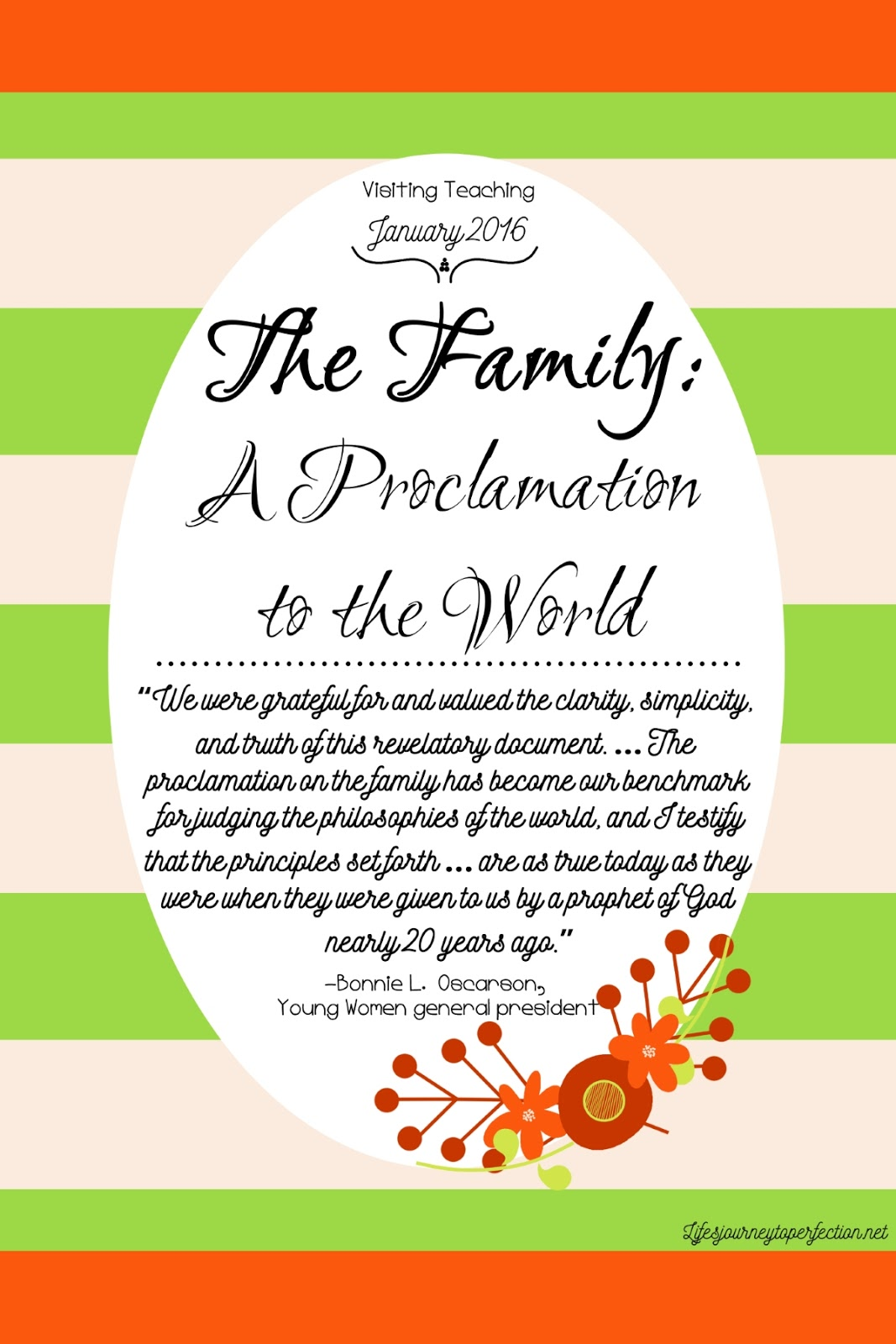 graphic regarding The Family a Proclamation to the World Printable called Lifes Excursion Towards Perfection: Checking out Schooling Suggestions for