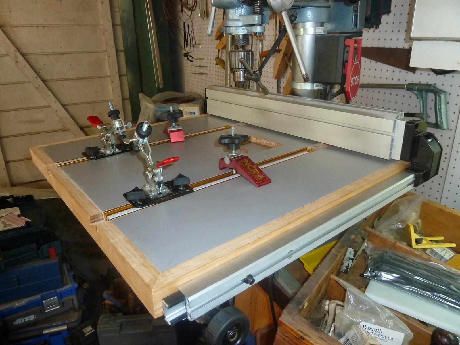 Herramientas y carpinter a mesa para taladro de banco 2 - Sierra para taladro ...