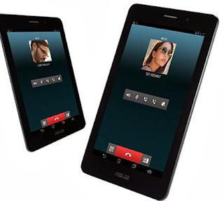 Gambar Asus Fonepad Tablet Android dengan fitur telepon
