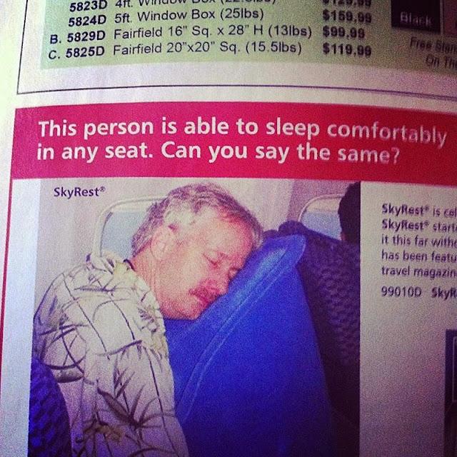 Productos inútiles que puedes comprar en un avión