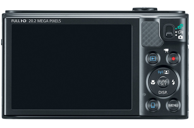 Canon PowerShot SX610 HS Digital Camera Back / LCD View