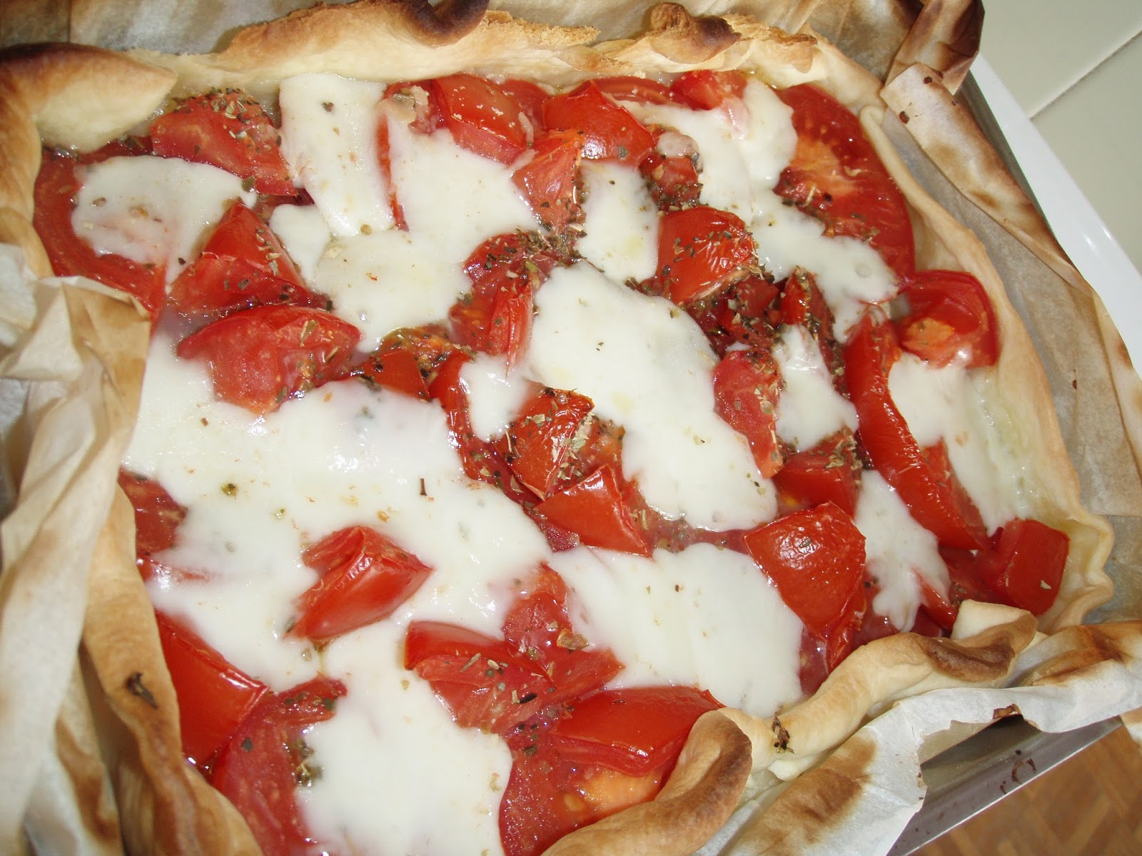 beautycareandvlogs recette healthy food tarte la tomate. Black Bedroom Furniture Sets. Home Design Ideas