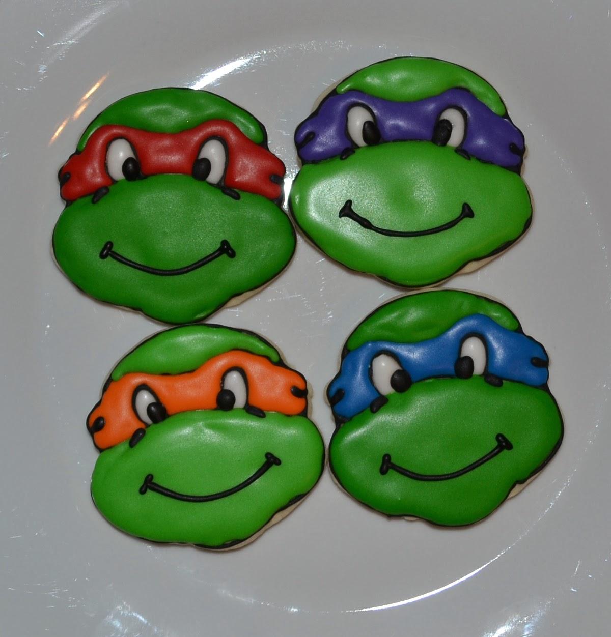 ... Little Cakes by Celeste: Teenage Mutant Ninja Turtle Cookie Cutter