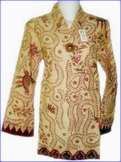 Foto Baju Batik Madura Modern
