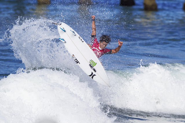 32 Hiroto Ohhara Vans US Open of Surfing Foto WSL Sean Rowland