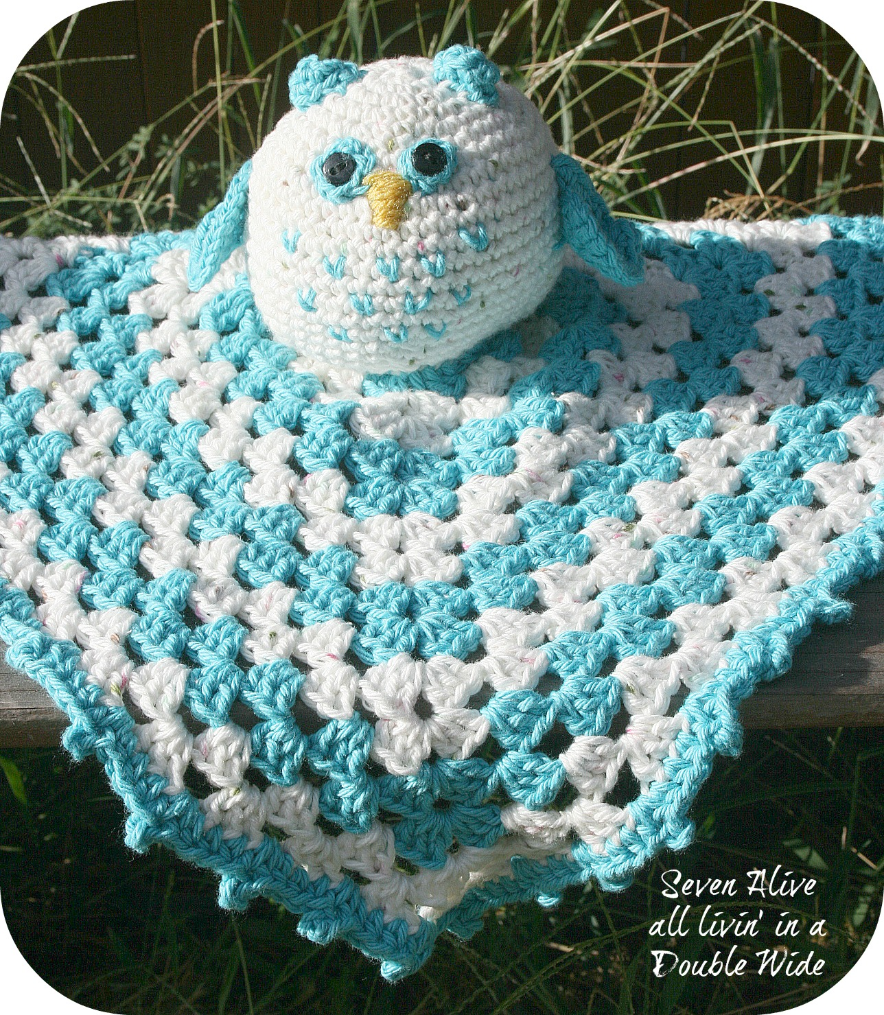 Crochet owl security blanket and something new seven alive crochet owl security blanket and something new bankloansurffo Image collections