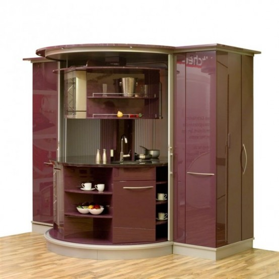 Freshhomeandgarden very small kitchen designs for Compact kitchens for small spaces