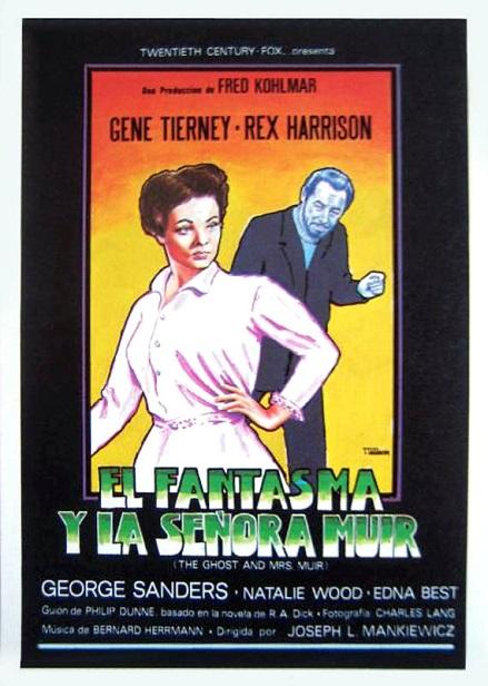EL FANTASMA Y LA SRA MUIR (1947)