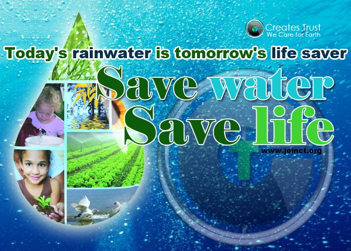 essay on save water for the future