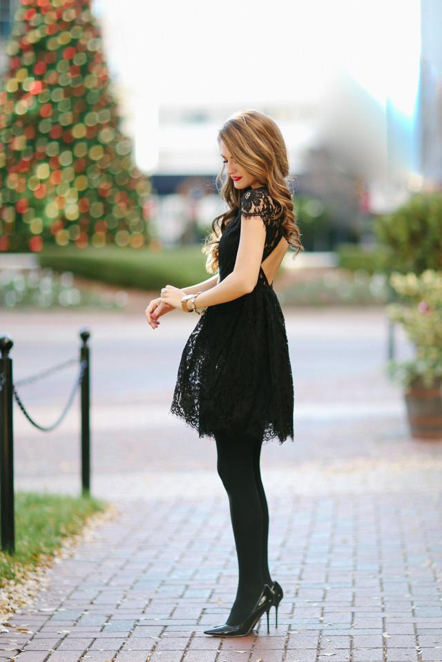 Little Black Party Dress