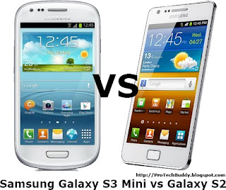Galaxy S2 vs Galaxy S3 Mini