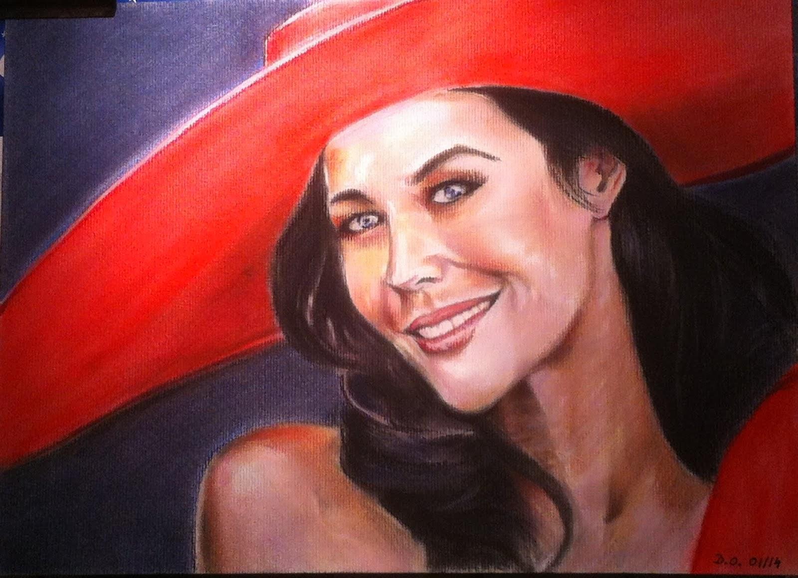 La femme au chapeau rouge 2014