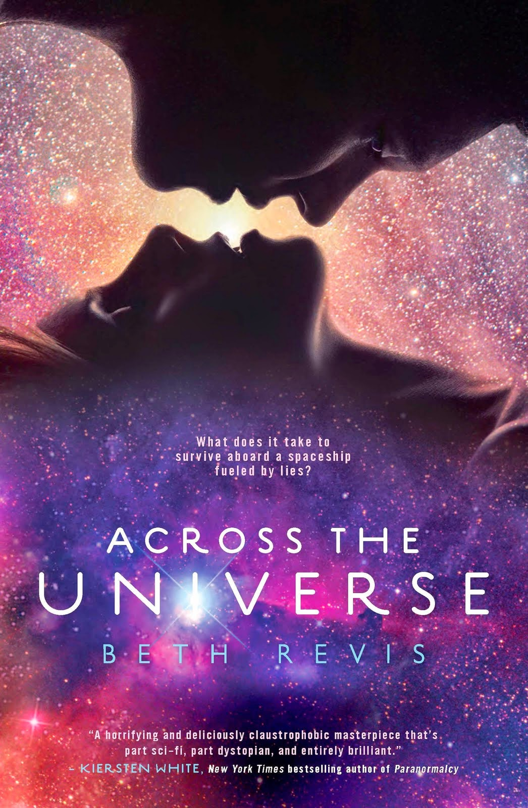 sarahsreviews sarah's reviews book review across the universe trilogy by beth revis cover hardcover old sci-fi science fiction ya young adult romance