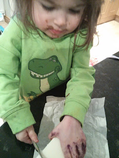 chopping lard