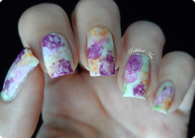 New-Technique-Watercolour-nail-art